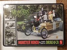 Special Edition MUNSTERS KOACH and DRAG-U-LA w Collectors Tin Sealed AMT 2010