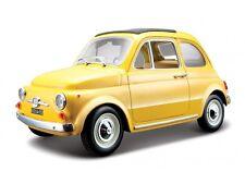 FIAT 500 1965 1:24 Car NEW model miniature models cars metal