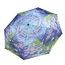 Galleria Auto Folding Umbrella - Monet Water Lilies