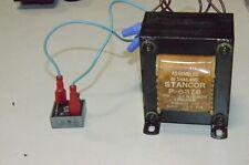 Stancor P-6378 12 24 Volt 4 & 8 Amp Transformer & GI KPC25-02 Bridge Rectifier