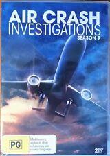 Air Crash Investigations Season 9 DVD PAL Region 4 Aust Post