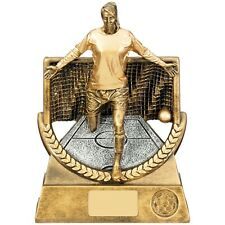 Super Triumph Female Goal Football Trophy Gold Award 3sizes FREE Engraving RF511