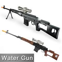Plastic SVD Rifle Toy Soft Crystal Ball Water Bullet Toy Gun Gel Blaster for Kid
