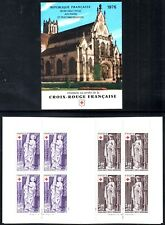 France 1976 Red Cross Fund Booklet  Brou Church Statuettes SG.2146/2147 Mint MNH