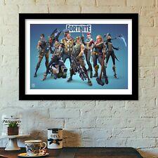 fortnite crue poster print all sizes modern art deco fortnite
