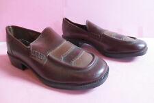 Damen Schuhe Vintage braun Blockabsatz Gr.41 Nr.10