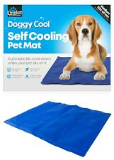 Pet Cooling Mat Cold Gel Pad Cushion for Dog Cat Puppy Cool 1st CLASS POSTAGE UK