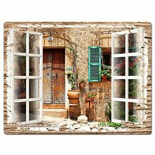 PP0603 French Window Scenery Chic Sign Shop Store Cafe Home Room Kitchen Decor