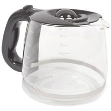 RUSSELL HOBBS Coffee Machine Drinks Maker Carafe Glass Jug with Handle Lid 1.8L