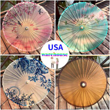 Chinese Waterproof Oil Paper Umbrellas Wedding Party Ceiling Decoration Parasol