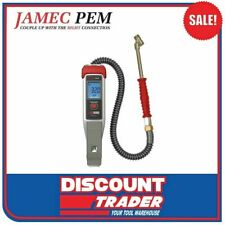 Jamec Pem Digital Tyre Inflator Dual Chuck - Auto On/Off TDR3000 - 10.3012