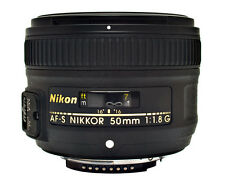 Nikon AF-S Nikkor 50mm f/1.8G Lens for NIKON DSLR (BLACK) - *BRAND NEW*