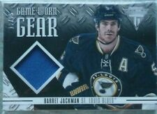 Barret Jackman 2012-13 Panini Titanium Game-Worn Gear PATCH /25 St. Louis Blues