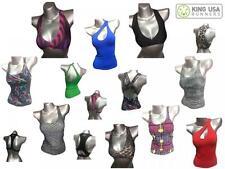 Women's Kitanga Suplex Tank Top Shirt Yoga Workout Fitness Activewear