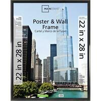 Poster Picture Photo Mainstays 22x28 Trendsetter Wall Frame Lightweight Black
