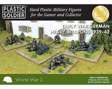 Plastic Soldier WW2015009 - Early War German Heavy Armas 1939-42-15mm