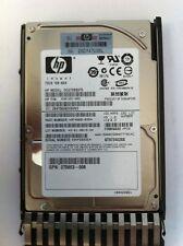 "HP 72GB Single Port SAS 10K 2.5"" Hot Plug Hard Drive 447447-001 DG072BB975 USA"