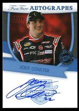2012 Press Pass Fanfare  AUTO/Autograph JOEY COULTER #ed 11/25