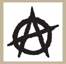 Anarchy sticker decal 4 inch