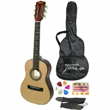 PylePro PGAKT30 Beginners 6-String Acoustic Guitar With Carrying Case and Accessories