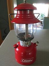 VINTAGE COLEMAN LANTERN MODEL 200A SINGLE MANTEL T-66 GENERATOR DATED 11/66