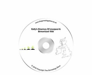 Kelly's Directory Of Liverpool & Birkenhead 1938
