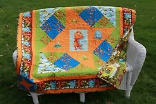 Handmade Baby, Toddler Quilt, Nursery Bedding.