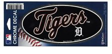 DETROIT TIGERS 3X7 CHROME WINCRAFT DECAL STICKER FREE SHIPPING!!!!!!
