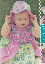 PATTERN - Petal Dress & Hat - cute child's sewing PATTERN - Sew Baby
