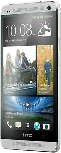 htc one M7 - 32GB - Unused - Silver Mobile Android  Smartphone Unlocked Grade A