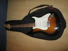 E-Gitarre VISION im Tragetasche inkl. Verbindungskabel und verstärker