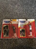 1990 & 1991 Lot Of 2 KENNER STARTING LINEUP DAVID ROBINSON ROOKIE