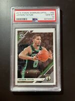 2019 Panini Donruss Optic 82 Jayson Tatum PSA 10 - FIRE