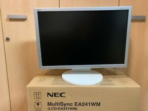 """NEC MultiSync EA241WM LCD 24"""" 1920x1200"""