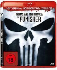 THE PUNISHER - EXTENDED CUT - Blu Ray Region B ( UK ) Thomas Jane, John Travolta