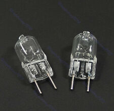 New 10 Pcs G8 Base JCD Halogen Light Bulb 120V 20W 20 WATT Lighting