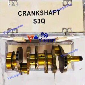 S3Q2 S3Q2-T Crankshaft For Mitsubishi Engine Caterpillar 303.5C 303C Excavator