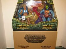 Masters of the Universe Classics Laser Power He-man and Laser Light Skeletor Set