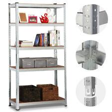 Heavy Duty Shelf Garage Steel Metal Storage 5 Level Adjustable Shelves Rack Unit