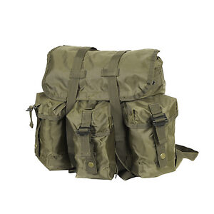 backpack olive drab mini pack nylon alice style military rothco 2245