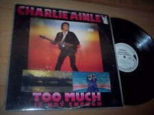 VG++ 1978 Charlie Ainley Too Much Is Not Enough DEMO LP Album