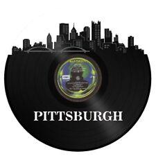 Pittsburgh Vinyl Wall Art City Skyline Vintage Anniversary Bedroom Office Decor