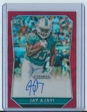 2015 Panini Prizm Jay Ajayi Red Auto Rookie Refractor #RS-JA (Dolphins)!! 66/125