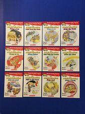 Magic School Bus Phonics Reading Learning Skills 12 Books Homeschool Elementary