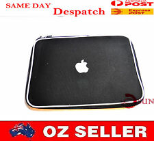 Black 13 13.3 inch Macbook Air Pro Laptop Sleeve Carry Case Pouch COVER APPLE