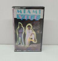 Miami Vice Soundtrack Cassette Tape Vtg 1985 Original Untested Don Johnson