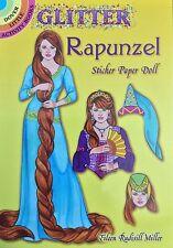 Rapunzel Glitter Sticker Paper Doll Book, 2013, Uncut