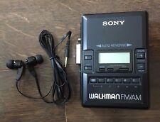 Sony WM-AF62 Tape Player Walkman Radio AM/FM Auto Reverse Cassette Player -0103C