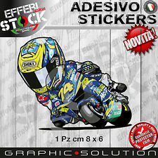 Adesivo Sticker DAIJIRO KATO MEMORY 74 HONDA RACING CARTOON MASCOTTE H.QUALITY