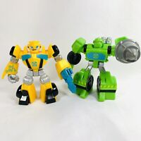 Transformers Rescue Bots 2015 Playskool Boulder Construction Bot Bumble Bee